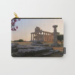 Paestum sunset Carry-All Pouch