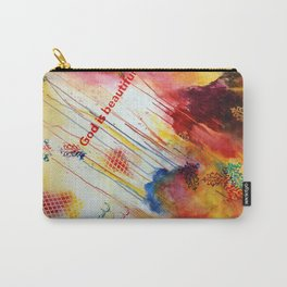 God is Beautiful Carry-All Pouch