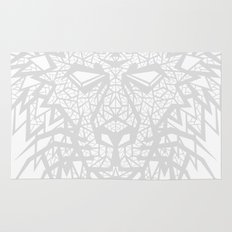 Heart of a Lion - Gray Rug
