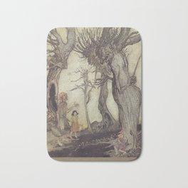 Arthur Rackham - Aesop's Fables (1912) - The Tree and the Axe Bath Mat