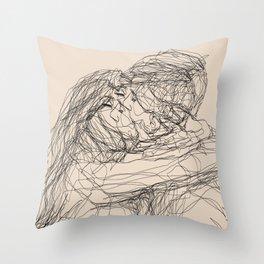 make-out? Throw Pillow