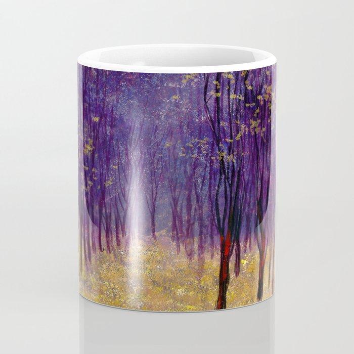 Melancholic autumn forest Coffee Mug