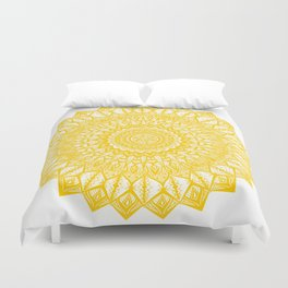 Sunshine-Yellow Duvet Cover