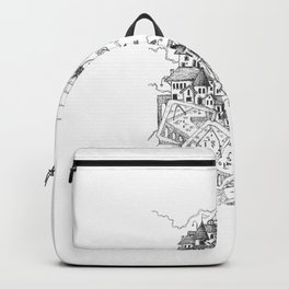 CASTLE ON SQUARES Backpack