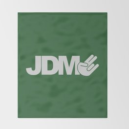 JDM shocker v7 HQvector Throw Blanket