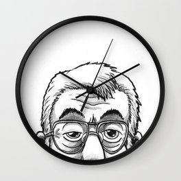 Ronnie Drew is watching you Wall Clock
