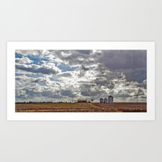 Big Farm Art Print