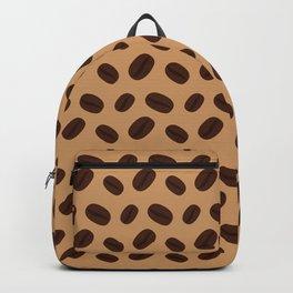 Cool Brown Coffee beans pattern Backpack
