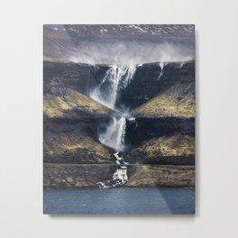 Fossá vertical Metal Print