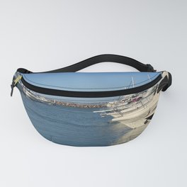 Boats on the harbour at Nelsons Bay, NSW, Australia Fanny Pack
