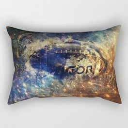 Abstract american football Rectangular Pillow