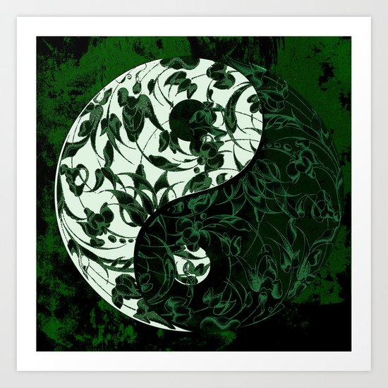 The rebellion of yin yang Art Print