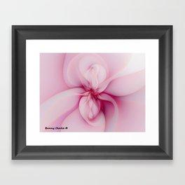 Raspberry Creme Delight Framed Art Print