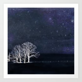 Fabric of Space Art Print