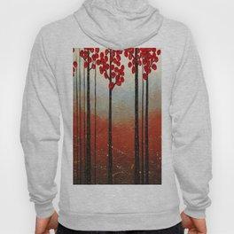Red Blossom Hoody