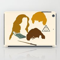 wizard iPad Cases featuring Wizard Trio by Mars