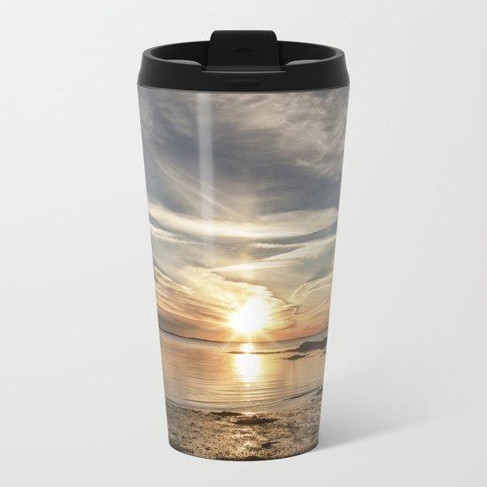 Plumcove Sun pillar Metal Travel Mug