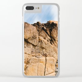 Rocky Landscape  in the coast of Brittany Clear iPhone Case