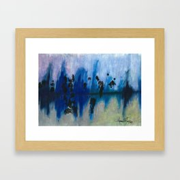 Frosted Reflections  Framed Art Print