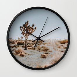 Joshua Tree / California Desert Wall Clock