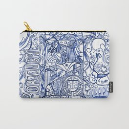 Portugal collage Carry-All Pouch