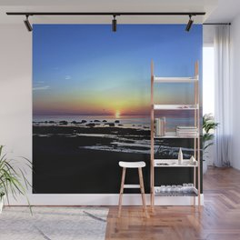 Wonderful Sunset Seascape Wall Mural