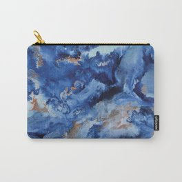 Depths of the Sea - Mixed Media Painting Carry-All Pouch
