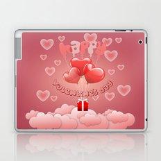 Happy Valentine´s day Laptop & iPad Skin