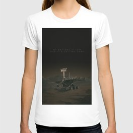My battery is low and it's getting dark. T-shirt
