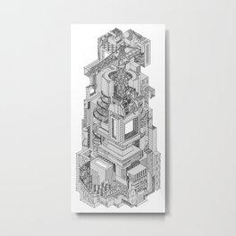 DECONSTRUCTION Metal Print