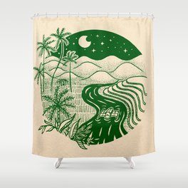 Memories of the Philippines Shower Curtain