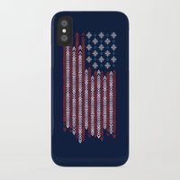 patriots iPhone & iPod Cases featuring Native Patriots by Steven Toang