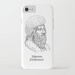 Johannes Liechtenauer iPhone Case