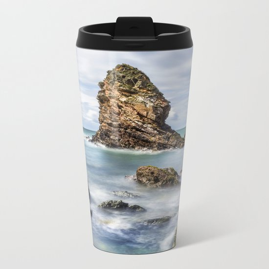 Gwenfaens Pillar Metal Travel Mug