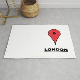 London map icon Rug