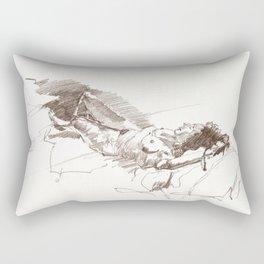 Cara the podiatrist Rectangular Pillow