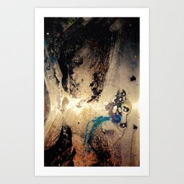 We All Did This - Abstract Art Paintings Art Print