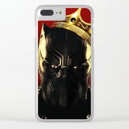 Black Panther notorious Clear iPhone Case