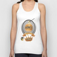 Honey, You Should See Me In A Crown. Unisex Tank Top