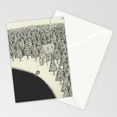 'Isolation' (B&W) Stationery Cards