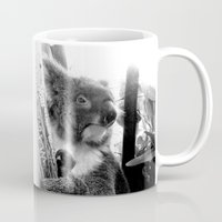 koala Mugs featuring Koala by Alan Hogan