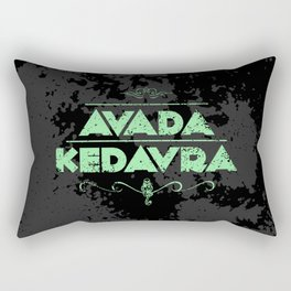 Harry Potter Curses: Avada Kedavra Rectangular Pillow