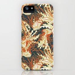 jellyfish slate iPhone Case