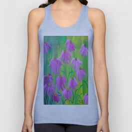 Purple Cone Flower (Echinacea) Unisex Tank Top
