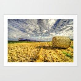 The 0706 Pad Paignton  Art Print