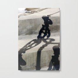 Shadow in Hackney4 Metal Print
