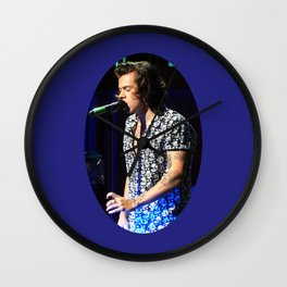 You Look So Good in Blue Wall Clock