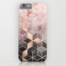 iphone 6 phone cases. pink and grey gradient cubes iphone case iphone 6 phone cases x