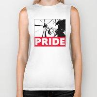 pride Biker Tanks featuring Pride by TxzDesign