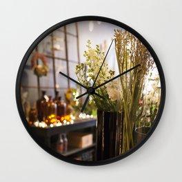 The Florist Shop Wall Clock